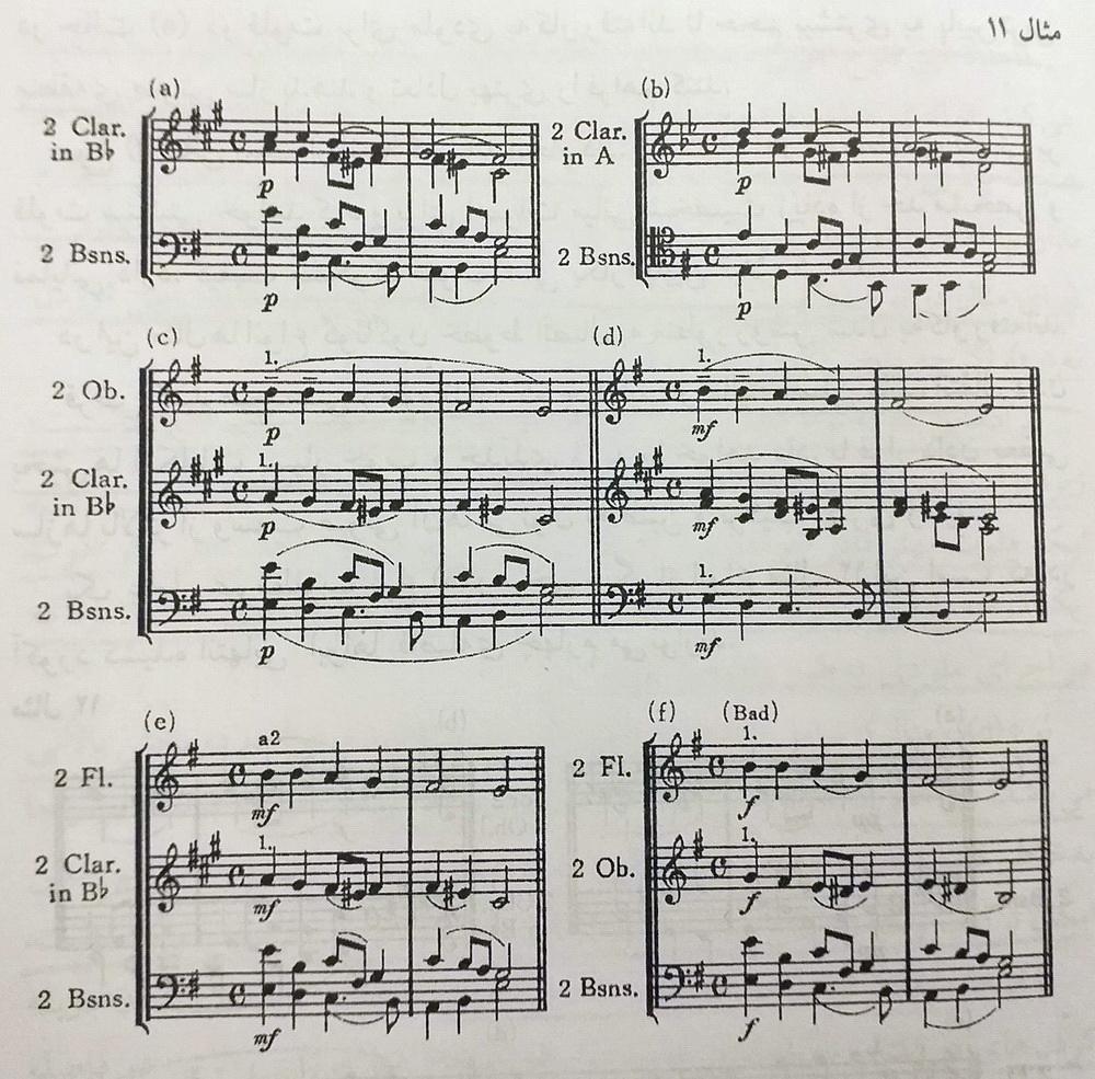ارکستر بادی چوبی1