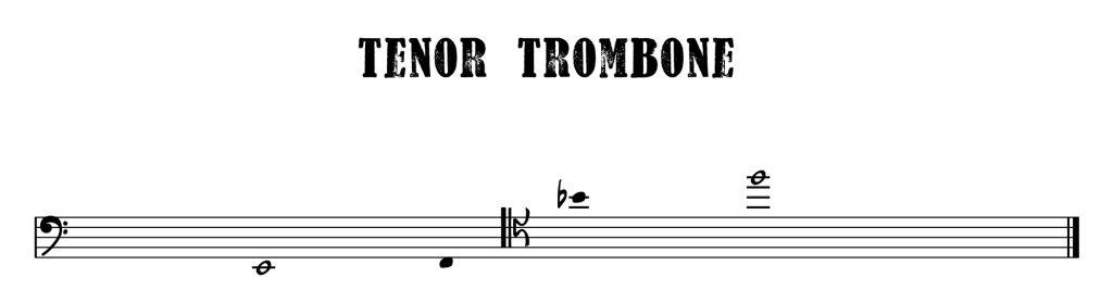15.Tenor Trombone