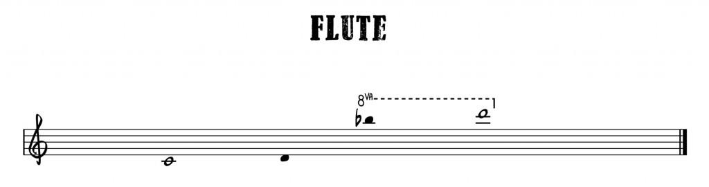 5.Flute